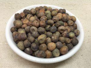 赤花鈴成砂糖豌豆 種子写真